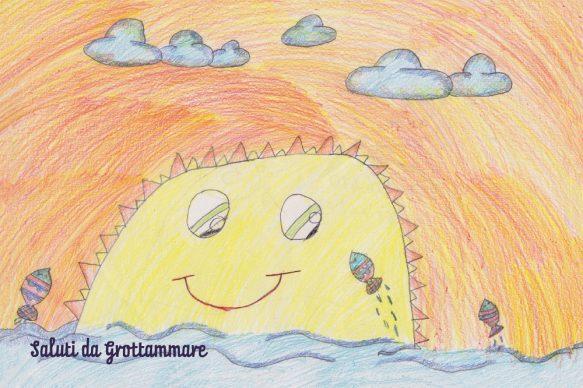 Progetto Saluti da Grottammare, la cartolina di Giorgia Pugliese, Contest 2016