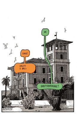 Progetto Saluti da Grottammare, la cartolina di Paolo Bacilieri, 2019