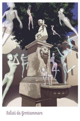 Progetto Saluti da Grottammare, la cartolina di Alessandro Scacchia, 2020