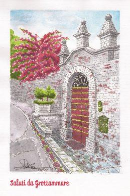 Progetto Saluti da Grottammare, la cartolina di Angelo Maria Ricci, 2020