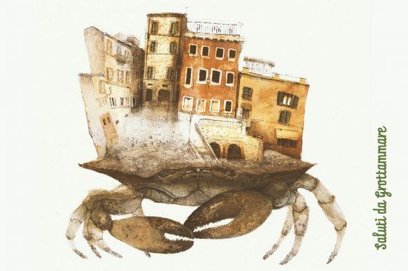 Progetto Saluti da Grottammare, la cartolina di Marco Leoni, 2020