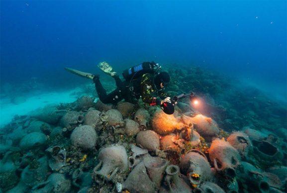 Photo Alonissos underwater museum _Copyrights UNICAL-DIMEG