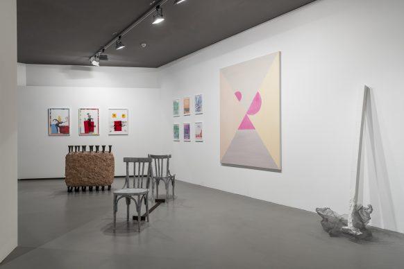 Exhibition view at Sala Trenker, Biennale Gherdëina 7. Ph. T.Sorvillo / L.Guadagnini