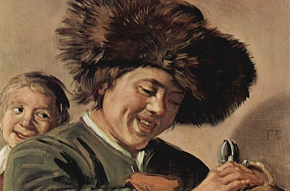 Frans Hals, Two Laughing Boys with a Mug of Beer, Public Domain, fonte Wikipedia