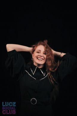 Alessandra Salerno, ospite del ventesimo episodio di Luce Social Club