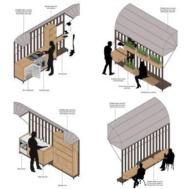 Cellule Kitchen by Aysha Farhana. Courtesy collective Soup International