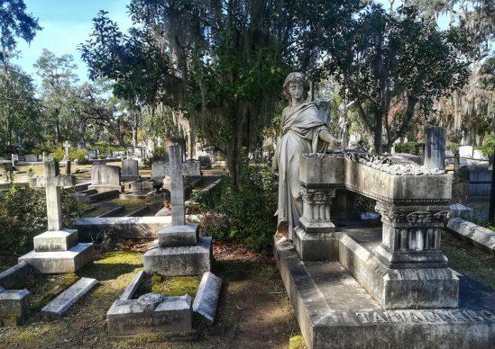 Bonaventure Cemetery, Savannah. Courtesy Claudia Vannucci