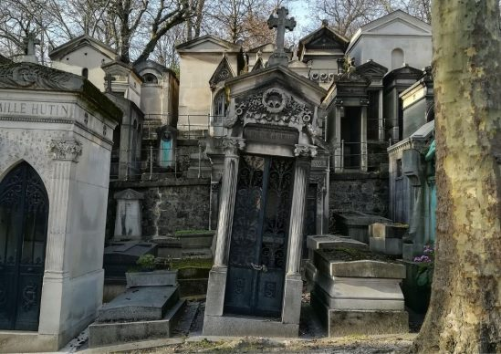 Cimitero di Père-Lachaise, Parigi. Courtesy Claudia Vannucci