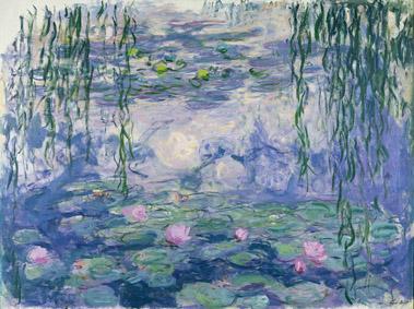 Claude Monet (1840-1926), Ninfee, 1916-1919 circa. Olio su tela, 150x197 cm. Parigi, Musée Marmottan Monet, lascito Michel Monet, 1966 © Musée Marmottan Monet, Paris Bridgeman Images