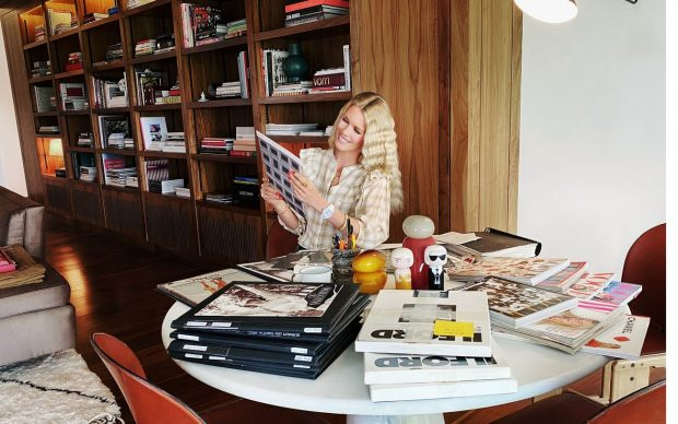 Claudia Schiffer, 2020. Photo Lucie McCullin