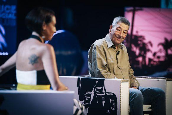 Gianni Di Gregorio, ospite del diciannovesimo episodio di Luce Social Club