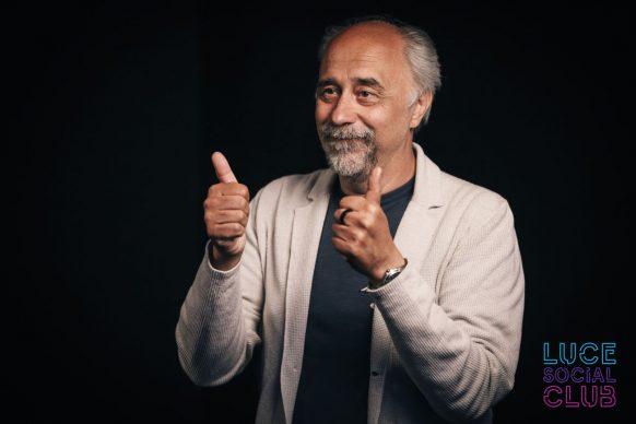 Giorgio Diritti, ospite della 21esima puntata di Luce Social Club
