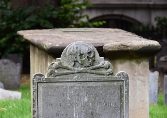 Granary Burying Ground, Boston. Courtesy Claudia Vannucci