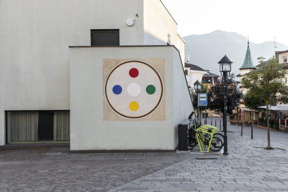 Habima Fuchs, Five Elements, 2020. Mural. Courtesy of the artist. Photo Tiberio Sorvillo / L. Guadagnini