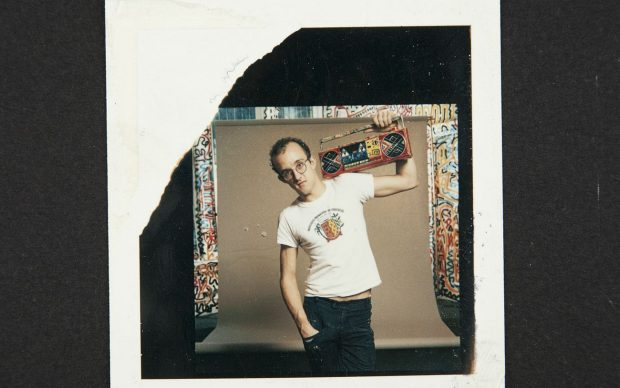 Keith Haring - Credit © Keith Haring Foundation. Polaroids, The Keith Haring Foundation Archives. Courtesy Sotheby's