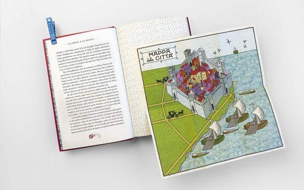 La bella e la bestia Edizione illustrata da Minalima Gabrielle-Suzanne Barbot de Villeneuve L'Ippocampo 2020