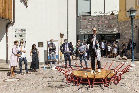 Opening Biennale Gherdëina 7, 8.8.2020. Photo Tiberio Sorvillo