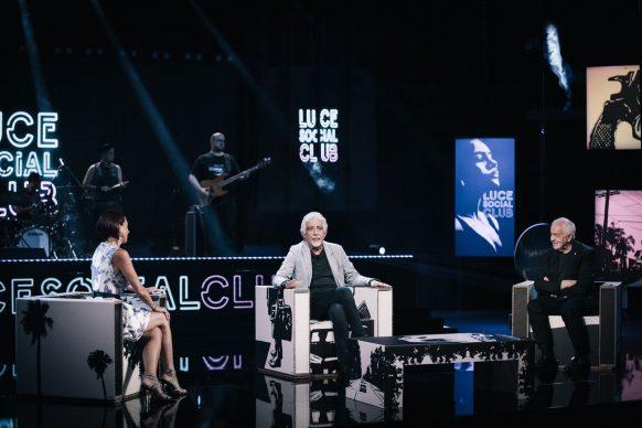 Pino Calabrese, ospite del ventesimo episodio di Luce Social Club