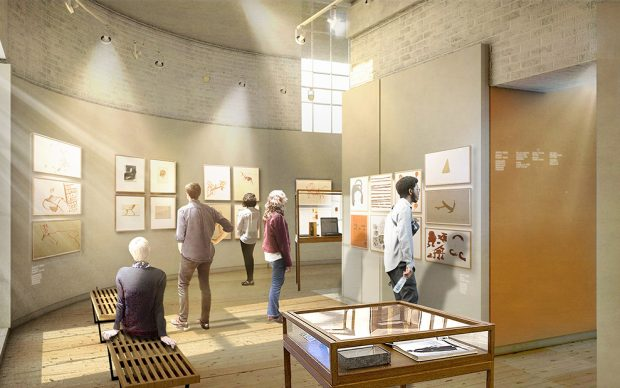 Quentin Blake Centre for Illustration, Tim Ronalds Architects, Prospective Gallery