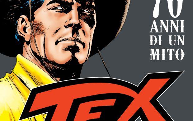 Tex. 70 anni di un mito, dettaglio della mostra al Palazzo Fruscione di Salerno