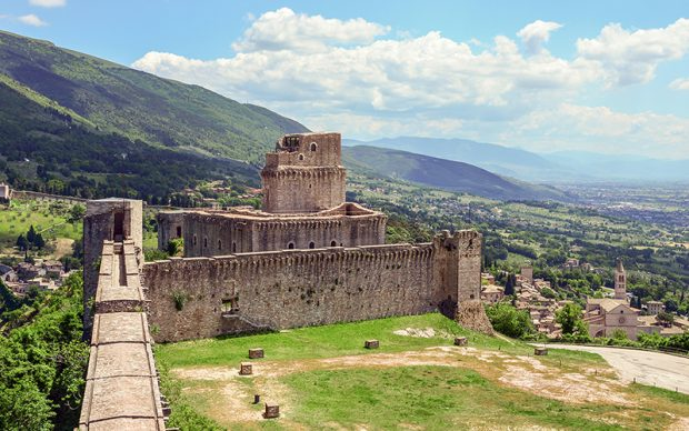 Assisi (Umbria), Italy - The awesome medieval and catholic town