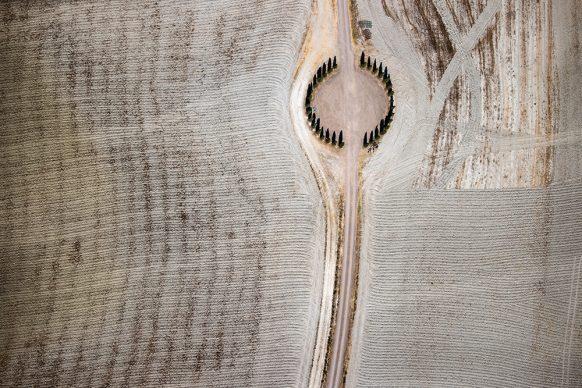 """Massimo Sestini, un'opera della serie """"Toscana Rinascimento senza fine. Bellezza oltre il limite"""". Photo © Massimo Sestini"""