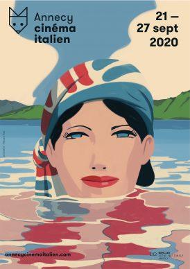 Una illustrazione di Emiliano Ponzi per Annecy cinéma italien. Courtesy l'artista