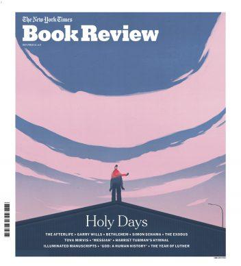 Una illustrazione di Emiliano Ponzi per New York Times BookReview. Courtesy l'artista
