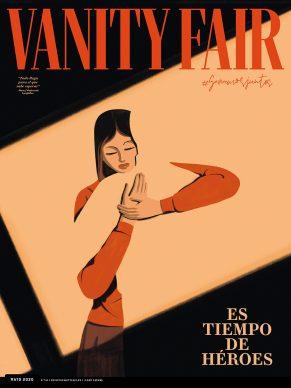 Una illustrazione di Emiliano Ponzi per Vanity Fair. Courtesy l'artista