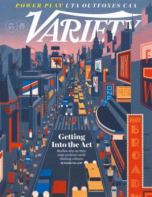 Una illustrazione di Emiliano Ponzi per Variety. Courtesy l'artista
