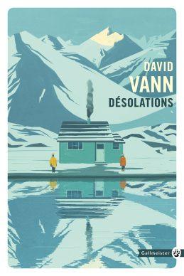 Una illustrazione di Emiliano Ponzi per Desolation di David Vann. Courtesy l'artista