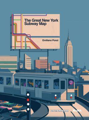 Una illustrazione di Emiliano Ponzi per The Great New York Subway Map. Courtesy l'artista