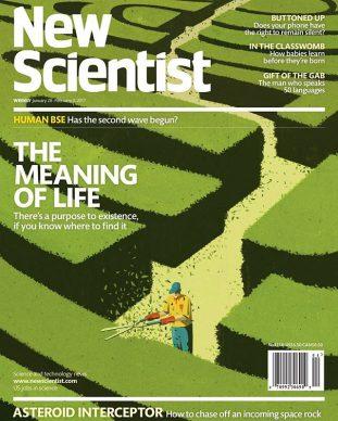 Una illustrazione di Emiliano Ponzi per New Scientist. Courtesy l'artista