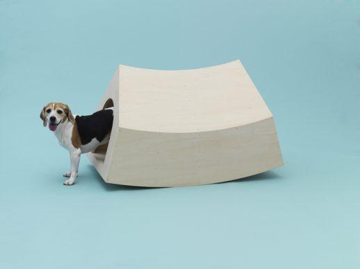 Beagle House Interactive Dog House by MVRDV for Beagle. Photo Hiroshi Yoda