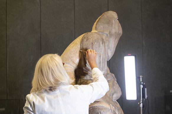 Restauro della Pietà di Michelangelo, Museo dell'Opera del Duomo di Firenze, Courtesy Opera di Santa Maria del Fiore, foto Claudio Giovannini/CGE