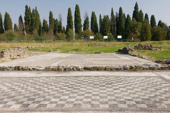 Foto dell'area dei fondi Cossar prima dell'inizio dei lavori © Gianluca Baronchelli