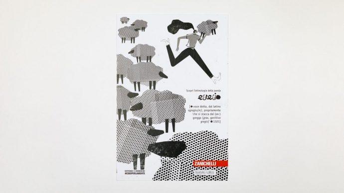 EGREGIO, cartolina di Fernando Cobelo, courtesy l'artista