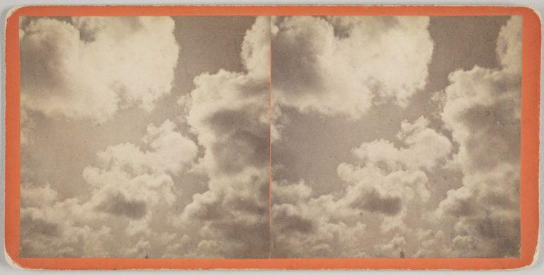 Eadweard J. Muybridge (English, 1830–1904). Clouds, 1868-1872. Albumen silver print. George Eastman Museum, museum accession. Courtesy of the George Eastman Museum