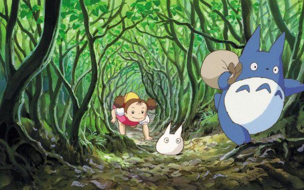 Film Still, My Neighbor Totoro (1988), Hayao Miyazaki, © 1988 Studio Ghibli