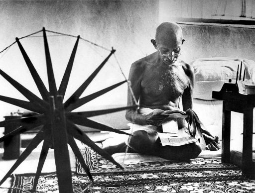 Gandhi, Pune, 1946. © Images by Margaret Bourke-White. 1946 The Picture Collection Inc. All rights reserved