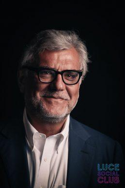 Giancarlo De Cataldo, ospite della 23esima puntata di Luce Social Club