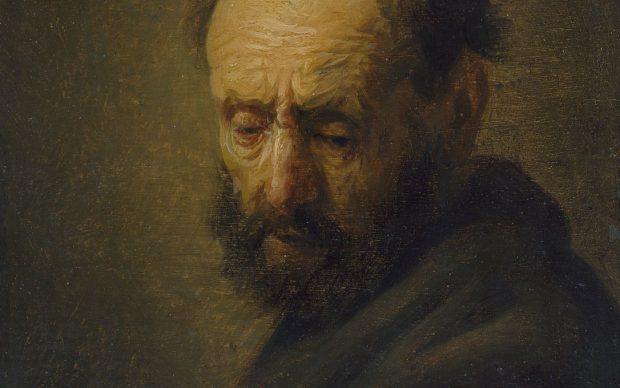 Head of a Bearded Man, courtesy Ashmolean Museum