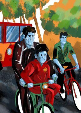 Ladri di biciclette, courtesy Emanuele Racca