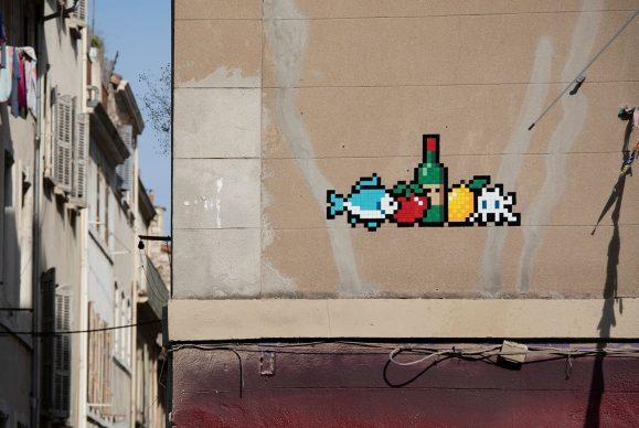 MARS_(35), Marseille, 2020 © Invader