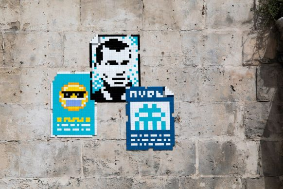 MARS_(40), Marseille, 2020 © Invader