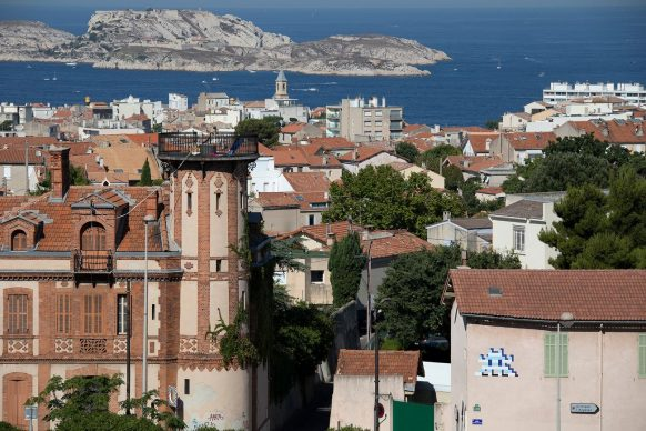 MARS_(42), Marseille, 2020 © Invader