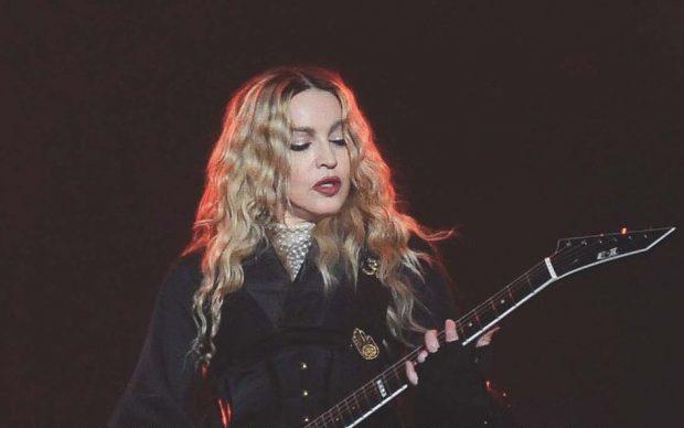 Massimiliano Stramaglia, Madonna. Un'icona di musica, moda, arte, stile, cinema e cultura popolare, Arcana 2020, dettaglio della copertina