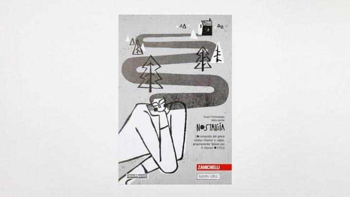 NOSTALGIA, cartolina di Fernando Cobelo, courtesy l'artista