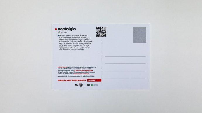 NOSTALGIA, retro cartolina di Fernando Cobelo, courtesy l'artista