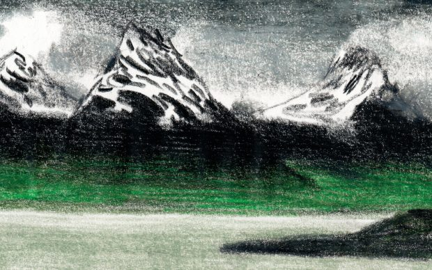 Patagonia. Courtesy Lorenzo Mattotti